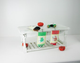 Dollhouse miniatures, costume Halloween Pumpkin in 1:12 for the Doll House, Doll House, collector