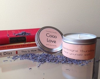 Coco Love Soy Candle, 8oz.