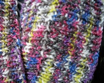 Rib Stitch Möbius Cowl