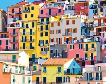 Cinque Terre, Italy Print