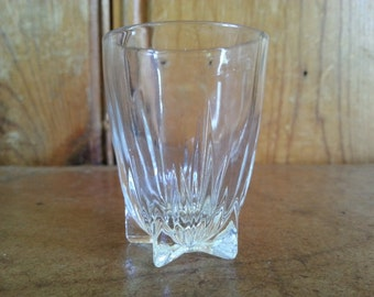 Federal Glass Company Star Bottom Shot Glass / Toothpick holder