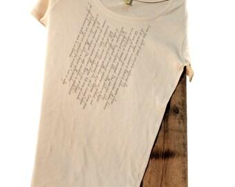Lorem Ipsum Scoop Neck Shirt
