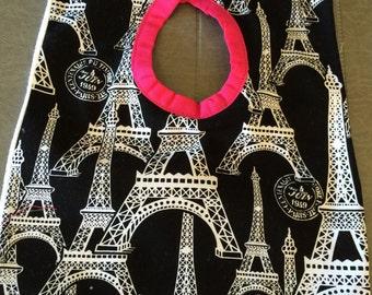 Baby Bib - Paris Pink