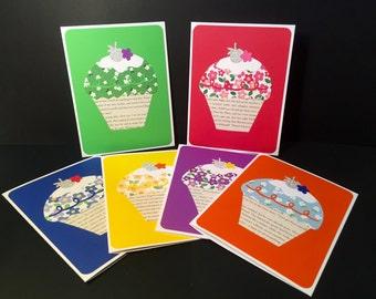 Cupcake - Blank Greeting Card