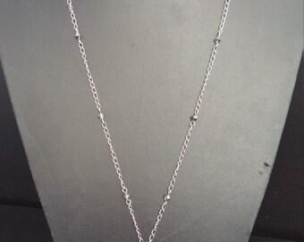 Blue hearts Swarovski necklace