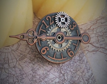 Timeless Steampunk Statement Ring