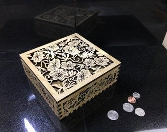 Tropical Treasure keepsake box