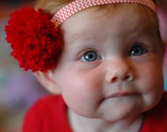 Baby Pom Pom Headband