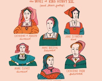 The Wives of King Henry the 8th & Their Fates