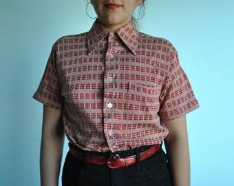 size L vintage JC Penny 70s shirt