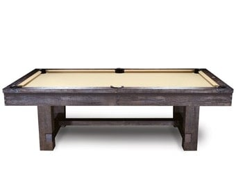 8ft. Reno Pool Table rustic style