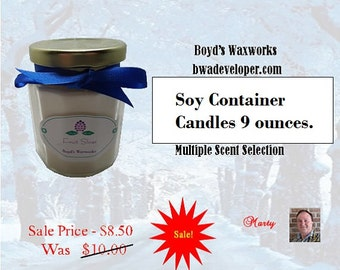 Soy Container Candles 9 Ounce