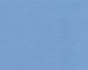 Kona Cotton Candy Blue half yard, Light Blue fabric Robert Kaufman, designer fabric 100% cotton fabric