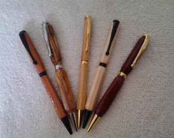 Elegant hand carved writing Pens