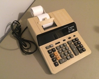 Vintage Canon MP250 Printing Calculator