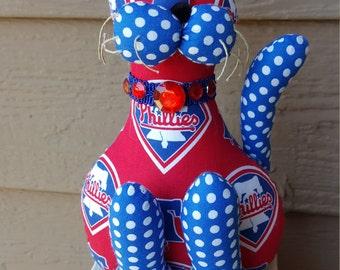 Philadelphia  Phillies Baseball Cat