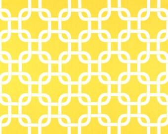 Yellow Metro Minky Receiving Blanket | Faux Fur Baby Blanket