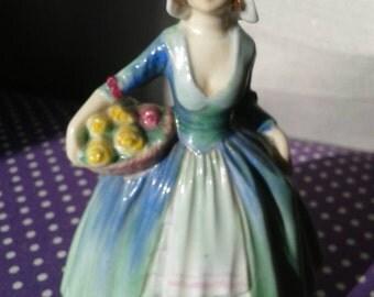 Royal Doulton Janet miniature figurine.