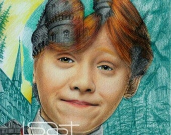 Ron - Harry Potter 1st year series (multiple exposure theme)