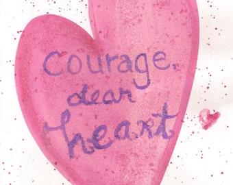 Courage, dear Heart C.S. Lewis