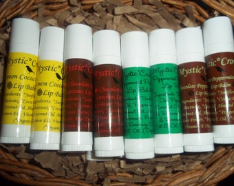 Organic Handmade Lip Balms