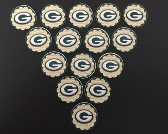 Greenbay Packers G Buttons Set of 15