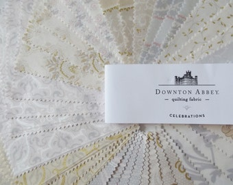 Downton Abbey fabric 5 inch charm pack - 42 squares
