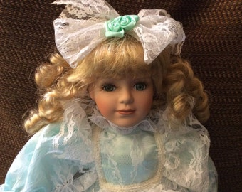 Charming Victorian Porcelain Doll