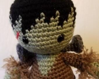 Crochet Halloween Frankenstein