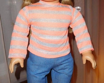 American Girl  Jeans and T-shirt