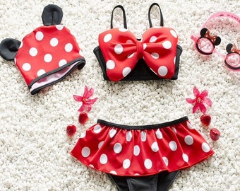 Minnie Mouse bathing suit