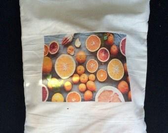 Reusable medium produce bag for fruit