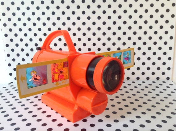 Vintage Toys From The 60s : Vintage toy projector from the s slides included in