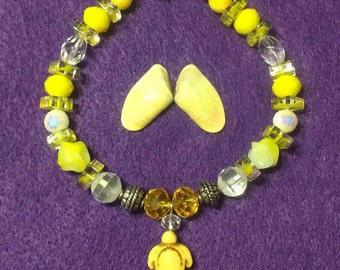 Crystal Turtle Bracelet