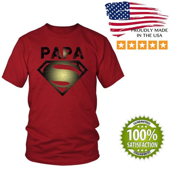 super papa custom t shirt funny t shirt tee hoodie long. Black Bedroom Furniture Sets. Home Design Ideas