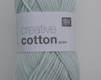 Rico Creative Cotton Aran Smokey Blue 031