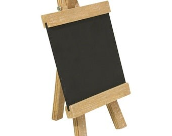 Rayher, wood Easel with chalkboard, 10 x 18 cm