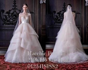 Monique Lhuillier 2016 spring collection wedding dress