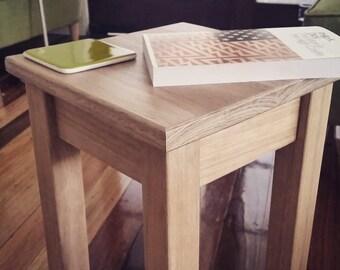 Tasmanian Oak Side Table