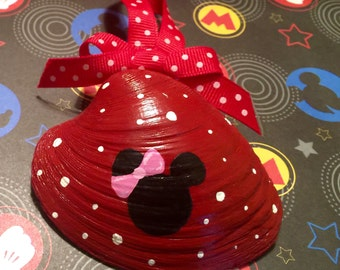 Minnie Mouse Hand Painted Shell