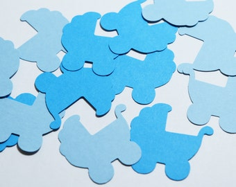 Baby Boy, Baby Shower Decorations, Baby Pram Decoration, Baby Shower Confetti, Shower Decorations, Blue Baby Shower, Baby Boy Birthday Party