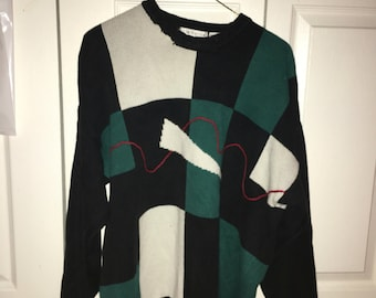 Vintage oversized 80's sweater