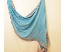 Blue Baby Ring Sling Baby Sling Carrier FAST SHIPPING - Sari