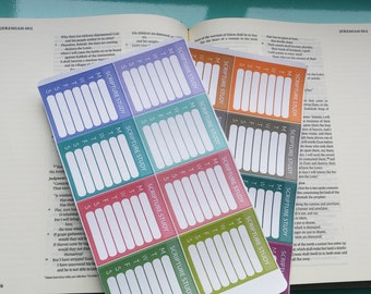 Scripture Reading Tracker