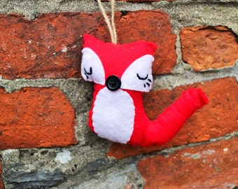 Handmade Ornament RedFox