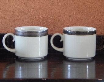Arabia of Finland Karelia Coffee Cup Ceramic 1970 s Design Anja Jaatinen Winquist