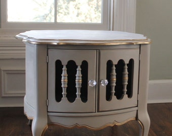 Local Pick Up Only!!!  Antique French Style Nightstand or Accent Table