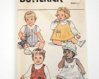 1985 Butterick Newborn baby pattern 3088