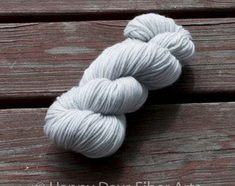 """100 % Superwash Merino Worsted Wool """"Every Cloud has a  Silver Lining"""""""