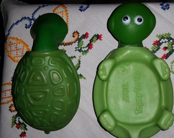 Vintage Avon Topsy Turtle Soap Dish